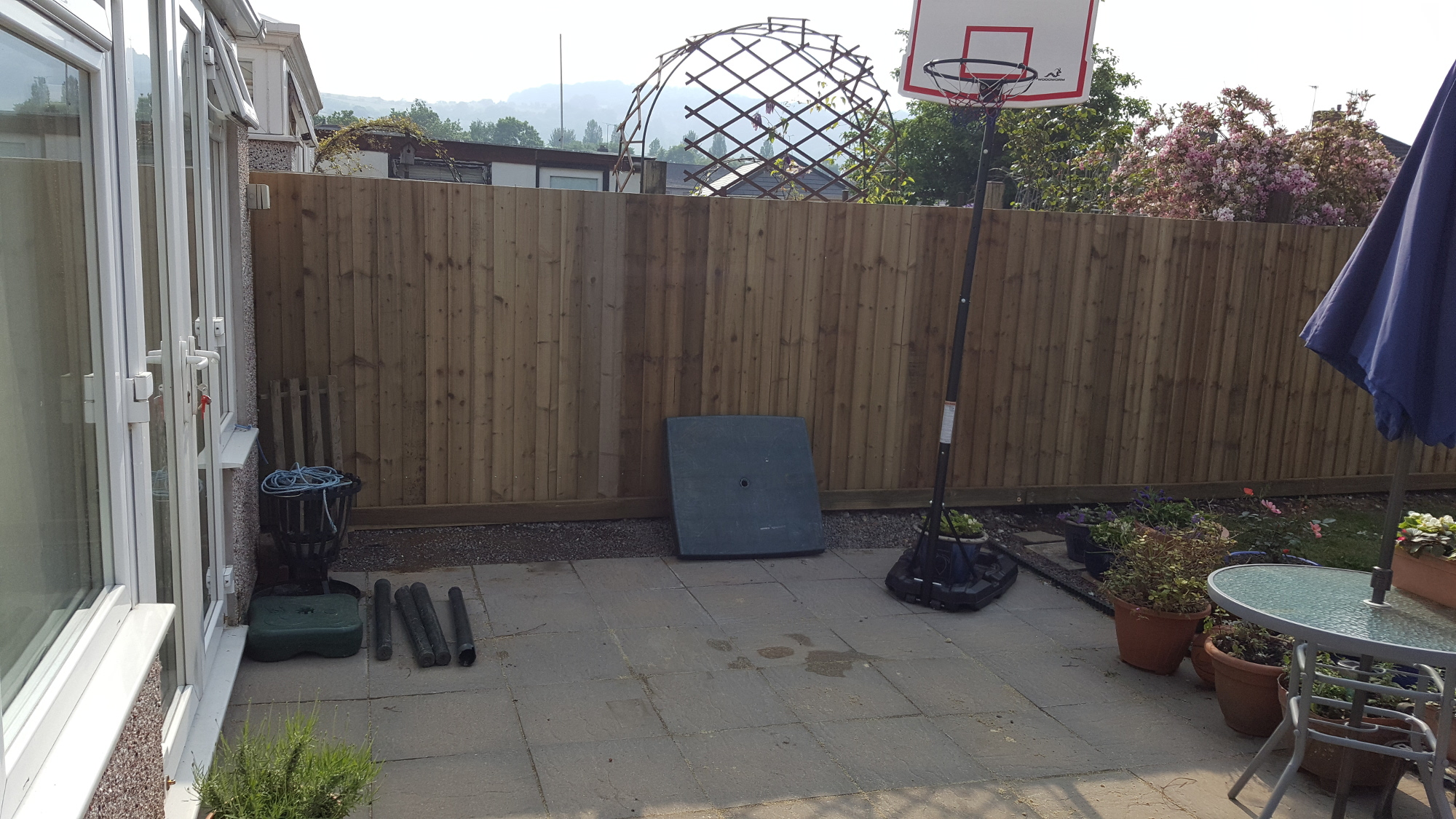 feather edge fencing, newport, risca, pontymister