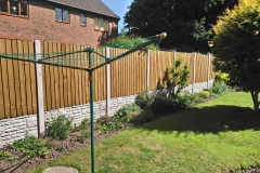 Slotted Concrete Fence Posts, Rock Face Concrete Gravel Boards & 6x5 NewFence Fence Panels