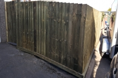 Feather edge fence + gate, Mount Pleasant, Rogerstone, Newport