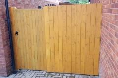 Newport Fencing Contractors, Tongue & groove fencing