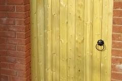 Newport Fencing Contractors, Premium pedestrian gate